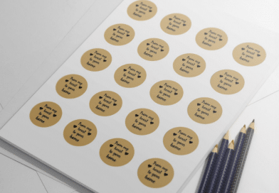 free printable homemade product label stickers