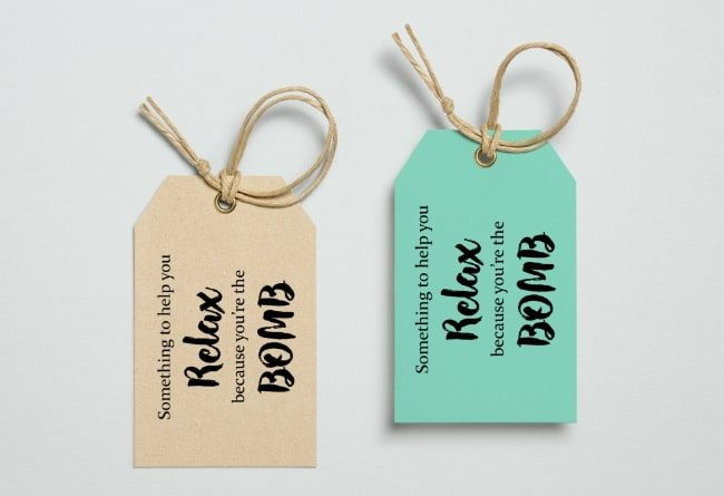 bath bomb tag  u0026quot something to help you relax    u0026quot