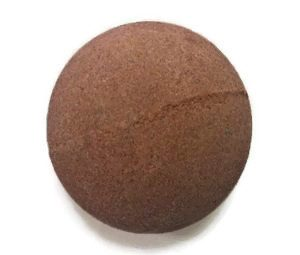 DIY chocolate bath bomb