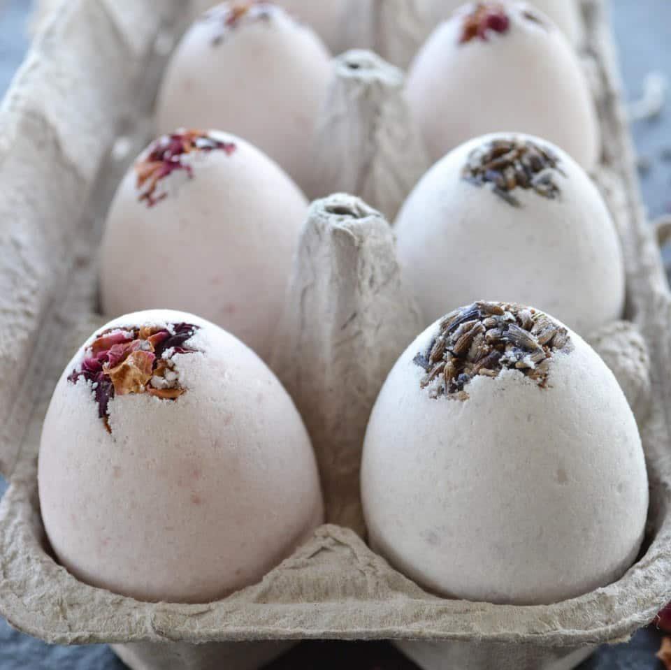 Easter egg bath bomb molds