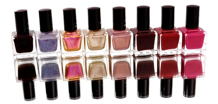 DIY nail polish different colors