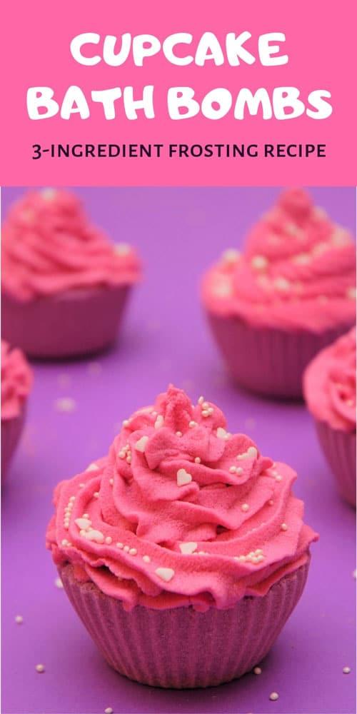 cupcake bath bomb frosting recipe