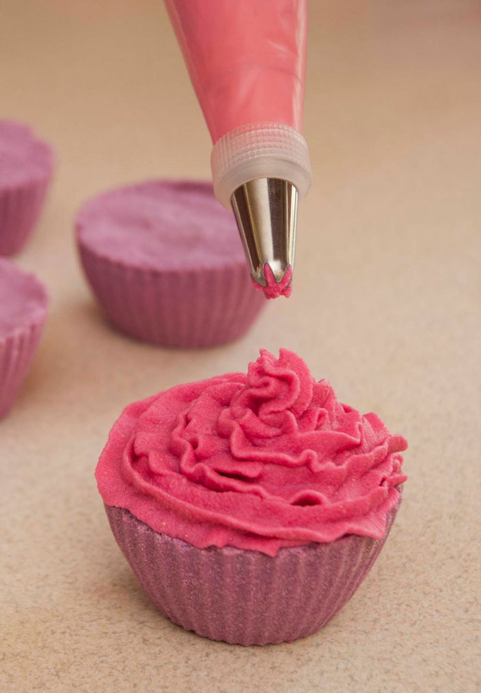 pink cupcake bath bomb frosting recipe