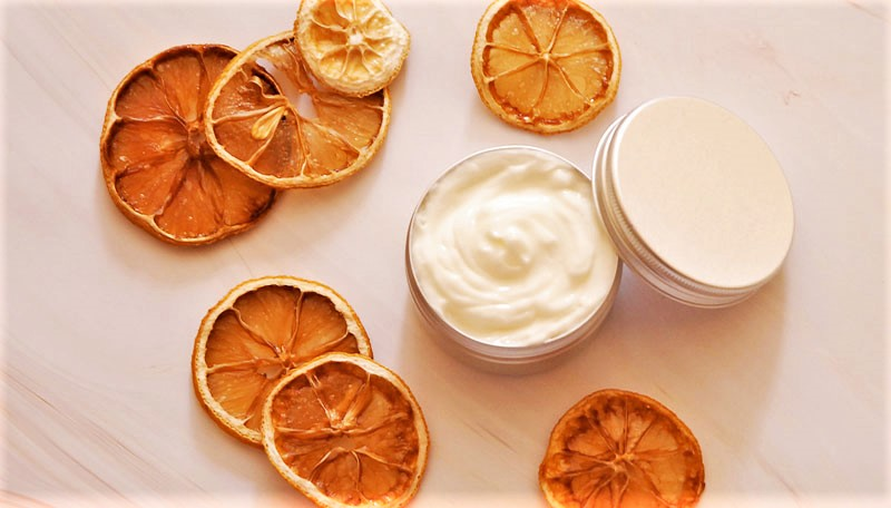 homemade hand cream with essential oils
