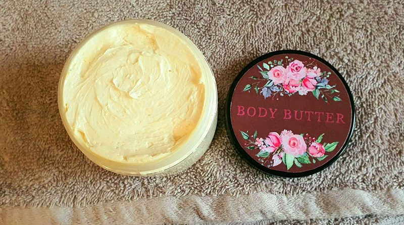 DIY Cupuacu body butter
