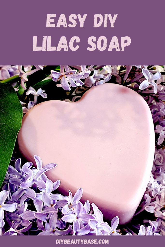 Easy DIY Lilac Soap Recipe