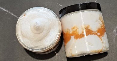 DIY sugar scrub homemade