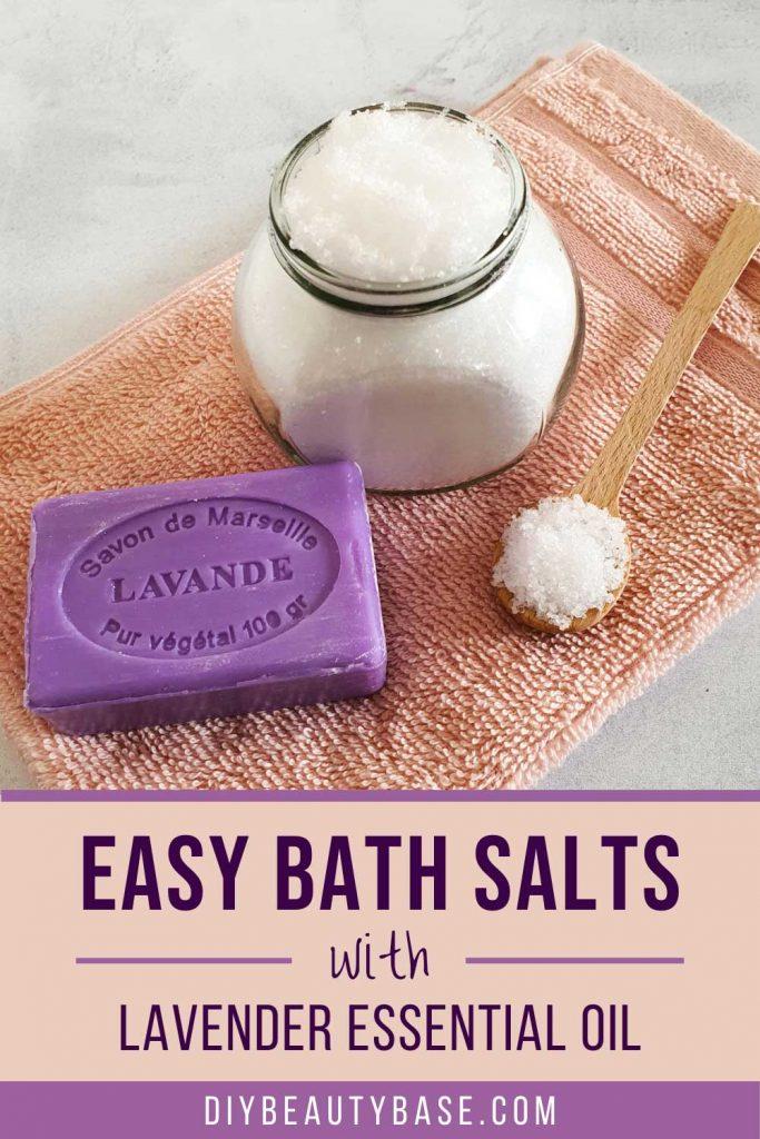 easy diy lavender bath salts
