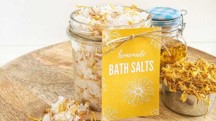 Calendula Bath Salts Recipe