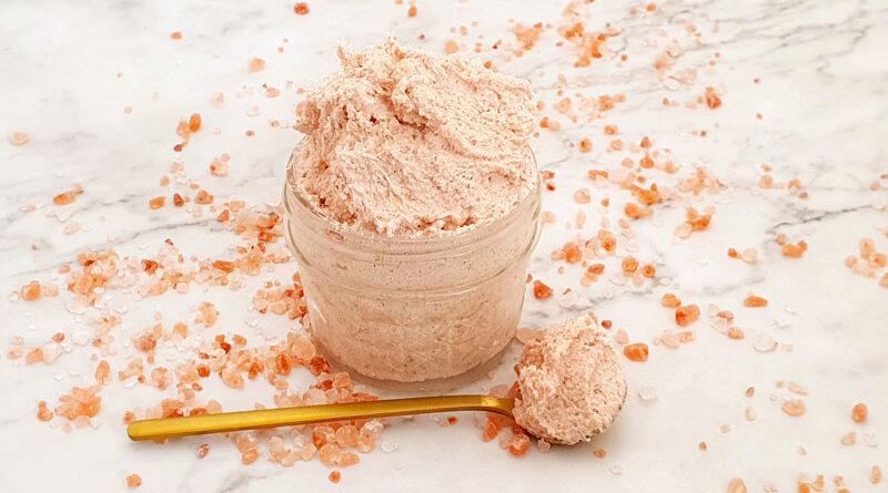 Best Himalayan Salt Scrub Recipe [Foaming]